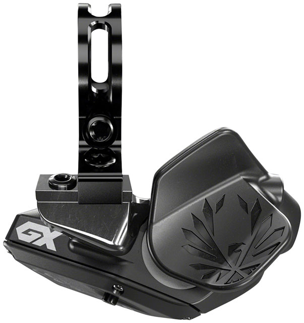SRAM GX Eagle AXS Controller - 12-Speed, Right Hand, 2-Button, Rear, w/ Discrete Clamp, Black