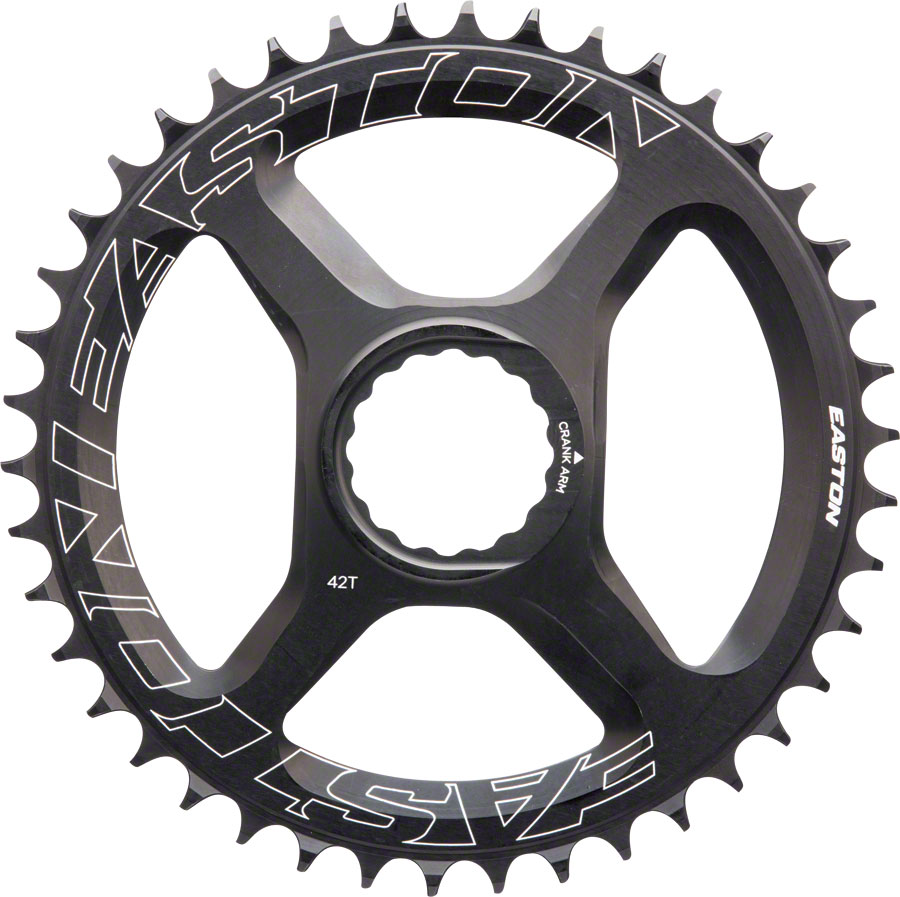 Easton Direct Mount 42 Tooth Chainring Black