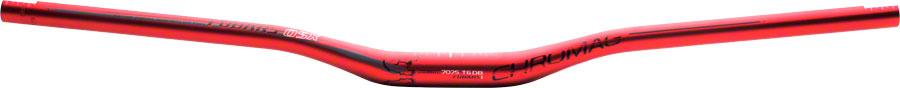 AgréAble Chromag Fubars Osx Guidon: 25 Mm Montée Et 780 Mm Largeur, 31.8 Mm, Anodisé Rouge-afficher Le Titre D'origine