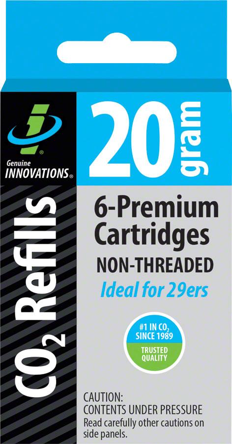 Amical Origine Innovations 20 G Threadless Co2 Cartouches: 6-pack-afficher Le Titre D'origine