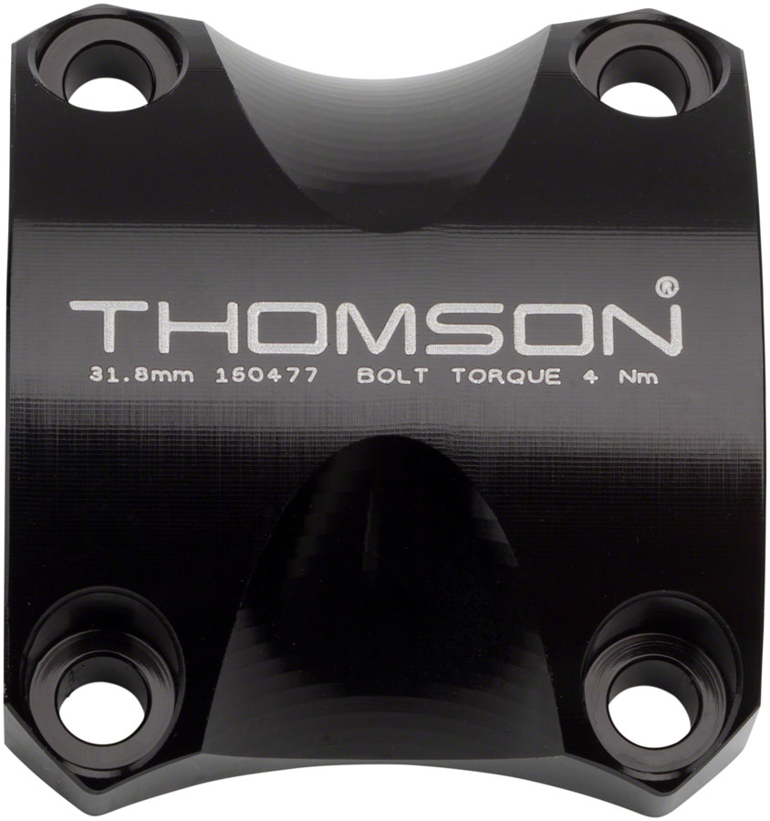 Thomson-Replacement-X4-Stem-Faceplate-Bar-Clamp-31-8-Black