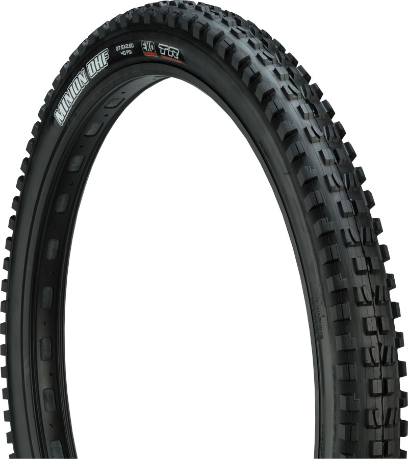 Maxxis Minion DHF Tire  27.5 x 2.60  Folding 60tpi Dual Comp EXO Tubeless Ready