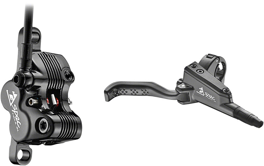 TRP G-Spec DHR Disc Brake and Lever Post Mount Hydraulic Black Rear
