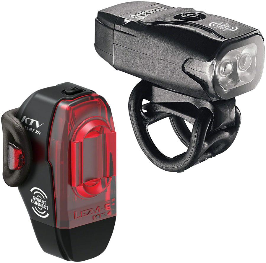 Black Lezyne KTV Drive Pro Smart Taillight