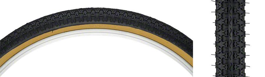 Kenda Street K52 Pneu 24 X 1.75 Fil d/'acier Noir//Tan 22tpi