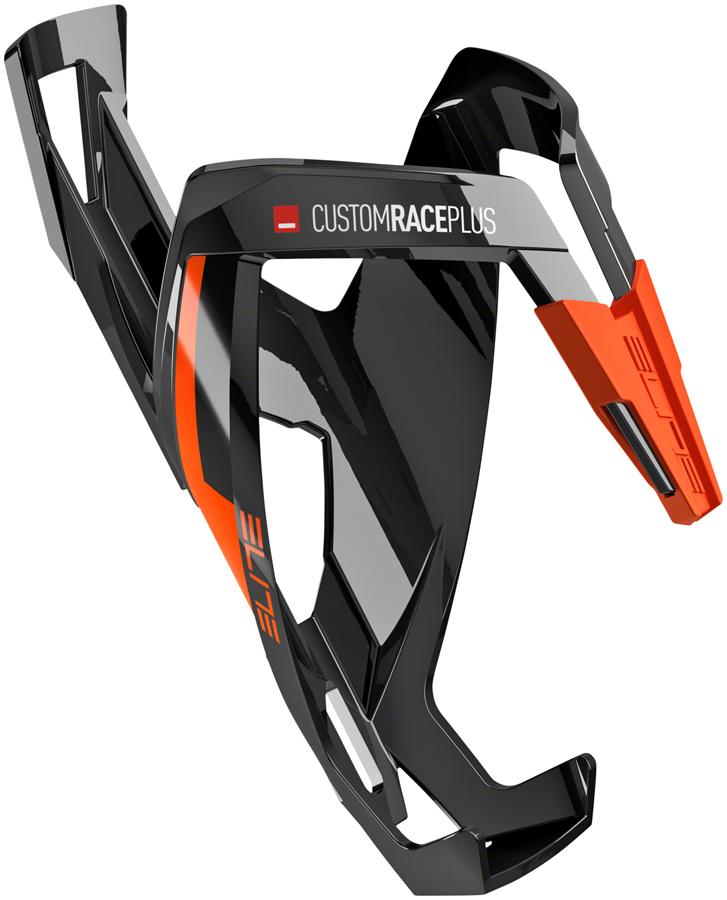 Glossy Orange Elite Custom Race Plus Water Bottle Cage