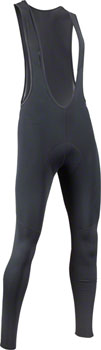 Bellwether Thermaldress Men's Bib Tight with Chamois: Black LG