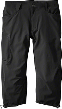 Outdoor Research Ferrosi Men's 3/4 Pants: Black, Size 30