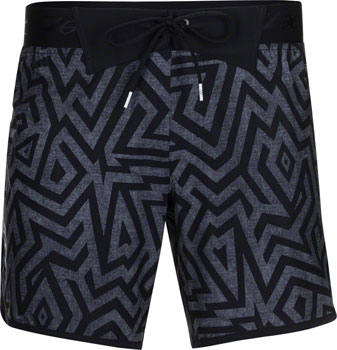 "Zoot Board Short 7"" Men's Short: Black Shaka XL"