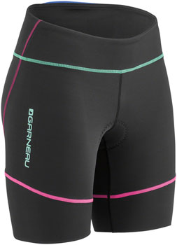 Garneau Tri Comp Women's Tri Short: Multi Color SM