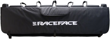 "RaceFace Tailgate Pad: 57"" Black SM/MD"