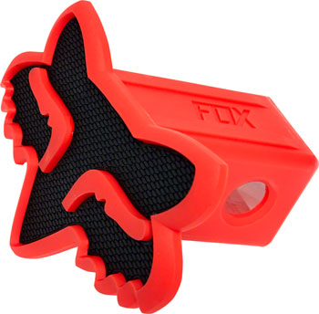 Fox Racing Trailer Hitch Cover: Black/Red One Size