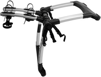 Kuat Highline Trunk Rack: 2 Bike Silver/Black