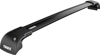 Thule 7601B Aeroblade Edge Flush Mount Single Bar Black