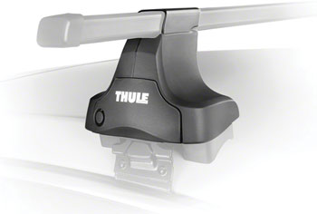 Thule 480 Traverse Foot Pack Tower Set: Fits Rectangular Bars, 4-Pack