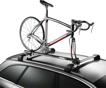 Thule 526XT Circuit Roof Rack Fork Mount Bike Carrier: 1-Bike