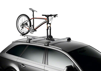 Bikeman Thule 535 Thruride Roof Rack Thru Axle Bike Carrier