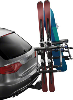 Thule 9033 Tram Hitch Rack Ski and Snowboard Carrier