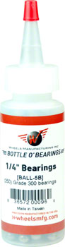 "Wheels Manufacturing Grade 300 1/4"" Loose Ball Bearing: Bottle of 250"