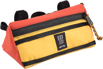 All-City x Topo Bike Bag: Yellow/Orange