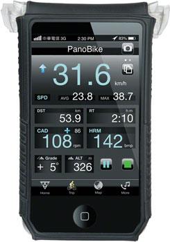 Topeak SmartPhone DryBag: Fits iPhone 5, Black