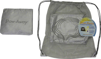CycleAware Stow-Away Packable Backpack: Silver