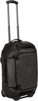 Osprey Rolling Transporter 40 Duffel Bag: Black