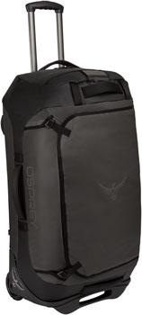 Osprey Rolling Transporter 90 Duffel Bag: Black