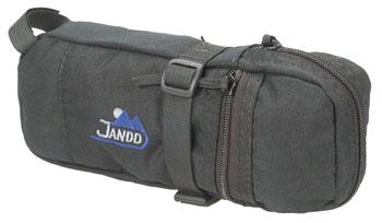 Jandd Tire Bag II Seat Bag: Black