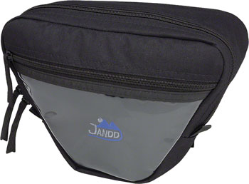 Jandd Mountain 1 Handlebar Bag: Black
