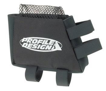 Profile Design E-Pack Top Tube/Stem Bag: Black, LG