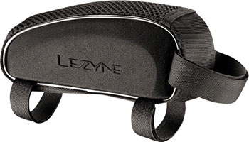 Lezyne Energy Caddy Top Tube Bag: Black