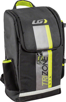 Garneau Tri-30 Transition Bag: Black, 30 Liters