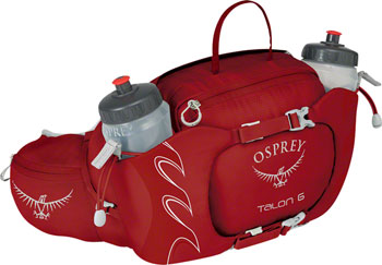 Osprey Talon 6 Lumbar Pack: Martian Red, One Size