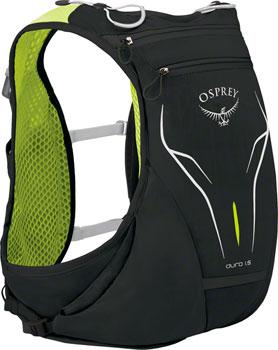 Osprey Duro 1.5 Run Hydration Pack: Electric Black, SM/MD