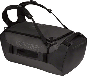 Osprey Transporter 40 Duffel Bag: Black