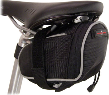 Banjo Brothers Seat Bag Deluxe: MD, Black