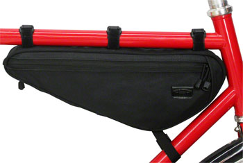 Banjo Brothers Canvas Frame Pack: Black, MD