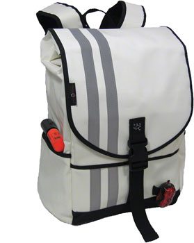 Banjo Brothers Commuter Backpack: MD, White