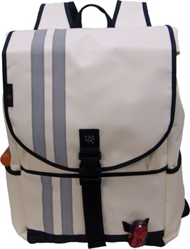 Banjo Brothers Commuter Backpack: LG, White