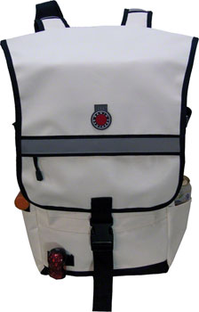 Banjo Brothers Metro Backpack: White