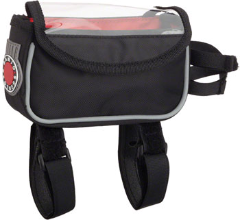 Banjo Brothers Top Tube/ Stem Bag: Black