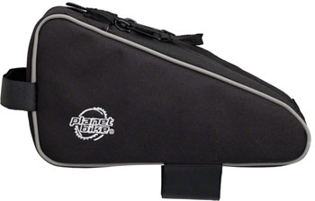 Planet Bike Lunch Box Top Tube/ Stem Bag: Black