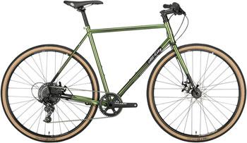 All-City Macho Man Disc Flatbar 700c Complete Bike 58cm, Olive Fab