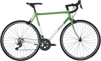 All-City Mr Pink Classic Complete Bike: 46cm, Green and White