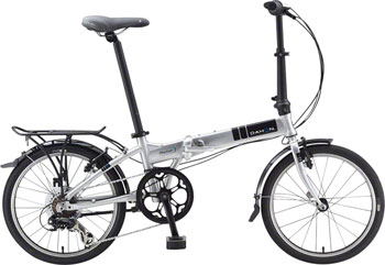 "Dahon Mariner D8 20"" Folding Bike, Quicksilver"
