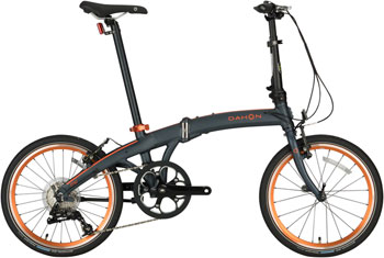 "Dahon Mu D9 20"" Folding Bike, Agate"