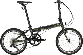 "Dahon Speed D8 20"" Folding Bike, Charcoal"