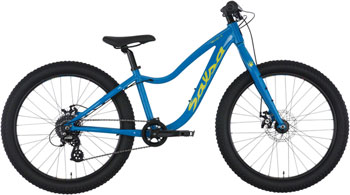Salsa Timberjack 24 Bike Blue