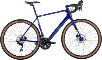 Salsa Warroad Carbon 105 650 Bike - 650b, Carbon, Dark Blue, 52.5cm